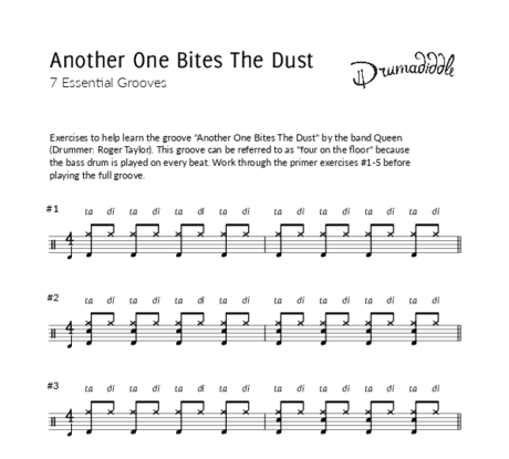 Another one bites the dust   beat sheet
