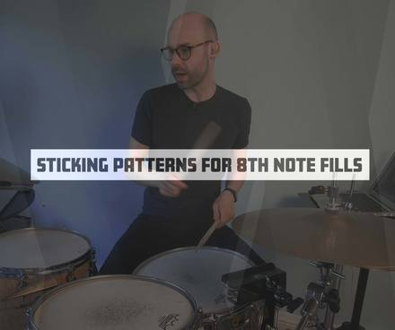 Sticking Patterns for 8th Note Fills