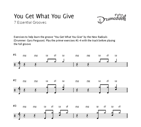 You get what you give   beat sheet